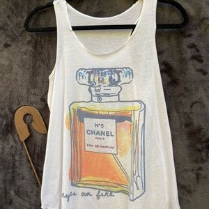 Chanel No. 5 Tank Top